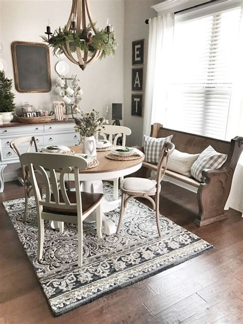 Farmhouse Style Kitchen Rugs by 25 Best Ideas About Farmhouse Dining Rooms On