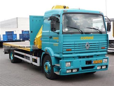 renault g340 met hiab kraan loader crane 1996 truck