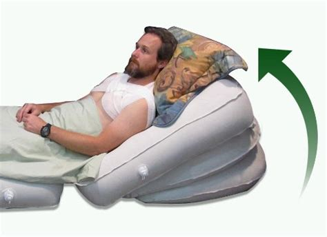 acid reflux bed wedge  comfort system patented adjustable inclination comfort product