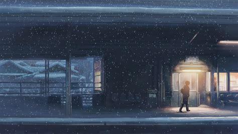 5 centimeters per second 5 centimeters per second makoto shinkai anime snow