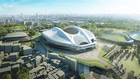 designboom zaha hadid japan zaha hadid architects reveals modified tokyo national