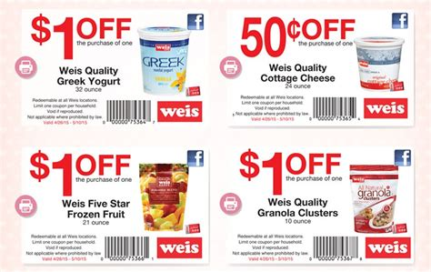 Weis Printable Grocery Coupons | weis quality healthy breakfast items exclusive weis