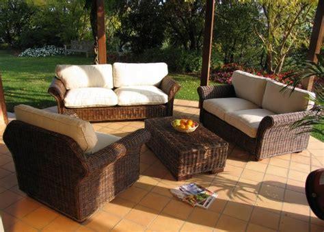 divani in vimini usati divano 3 posti in rattan