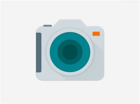material design instagram icon samsung camera app icon material design by igor s dribbble