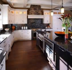 Kitchen White Cabinets Black Granite White Kitchen Cabinets With Granite Countertops Home Design Ideas