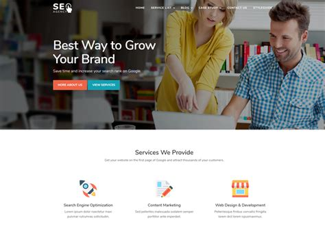 Free Website Templates Archives Page 3 Of 4 Ease Template Digital Marketing Responsive Website Template Free