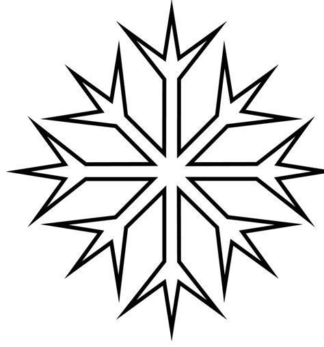 snowflake coloring pages snowflake coloring pages coloring lab