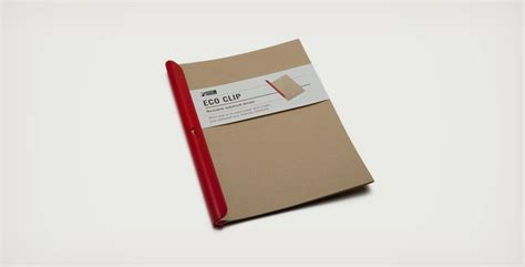 Cool Ways To Fold Notebook Paper - turn any paper into a notebook with eco clip cool material