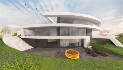 rundes haus runde h 228 user bauen in moderner architektur