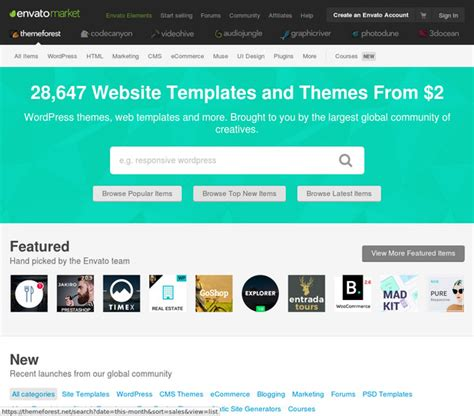themeforest site templates website templates themes from themeforest
