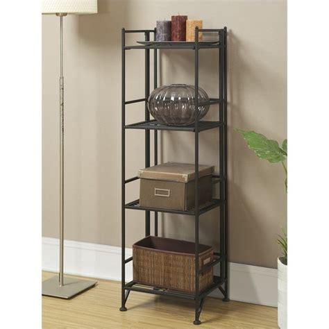 Corner Shelf Black by Convenience Concepts 157005b Midnight 4 Tier Corner Shelf