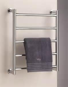 Heated Bathroom Floor - fitting a towel rail