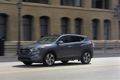 hyundai crossover 2016 2016 hyundai tucson first drive of new compact crossover suv