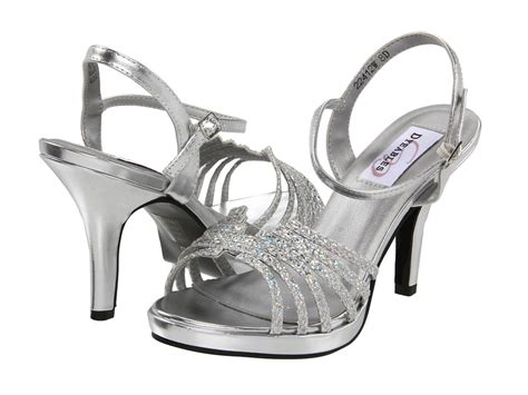 silver prom shoes smart wide width shoes