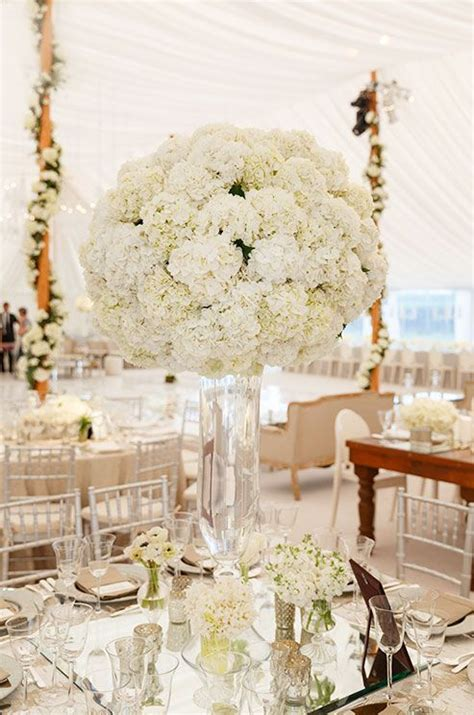and white table centerpieces best 25 white hydrangea centerpieces ideas on