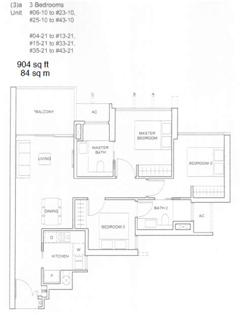 3 bedroom condo floor plan commonwealth towers condo floor plans queenstown condo