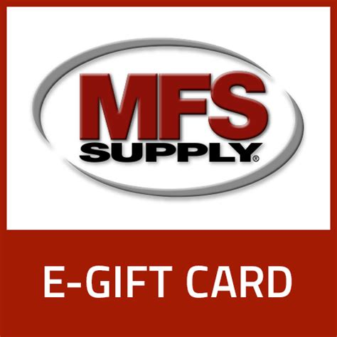 The E Gift Card - 25 mfs e gift card mfs rewards
