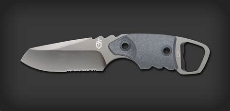 gerber epic knife epic drop point sheath serrated