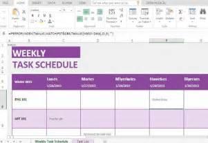 Weekly Task List Template Weekly Task List Template For Excel Online
