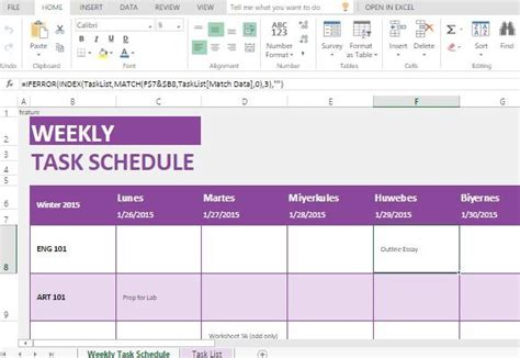 a one series production how to make a weekly calendar youtube