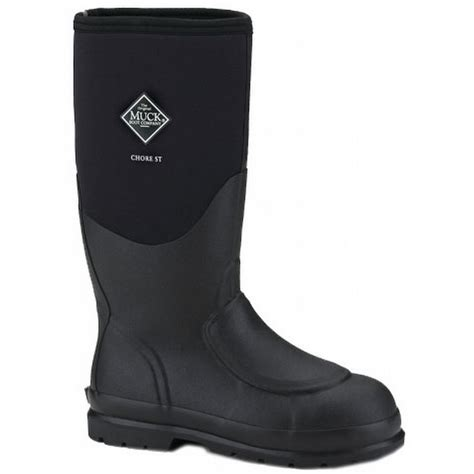steel toe muck boots muck boots steel toe chore with met guard chsmeta