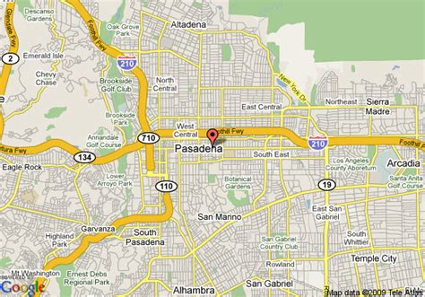 california map pasadena map of vagabond inn pasadena pasadena