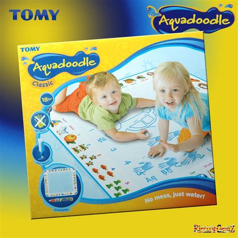 umagine aquadoodle draw doodle classic mat tomy aquadoodle aquadraw classic magic water drawing mat