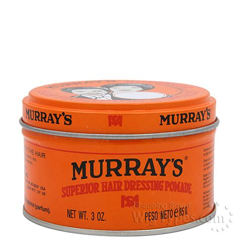 Pomade Murray S murrays superior hair dressing pomade 3oz wigtypes