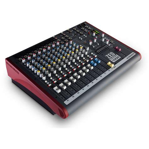 Mixer Allen Heath Zed 1200 Fx allen and heath zed power 1000 mixer at gear4music