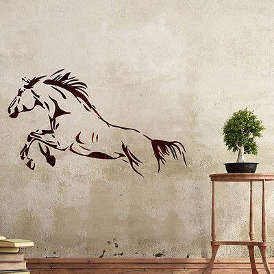 details about wall stencils horse stencil large template