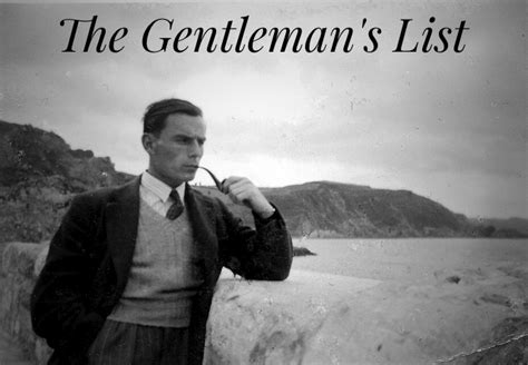 gentleman s introducing the gentleman s list the catholic gentleman