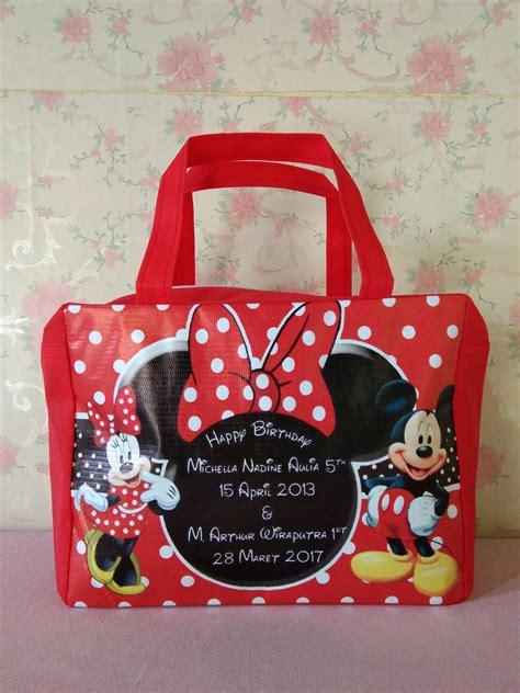 Tas Ultah Jinjing Minnie Mouse produsen tas ulang tahun anak