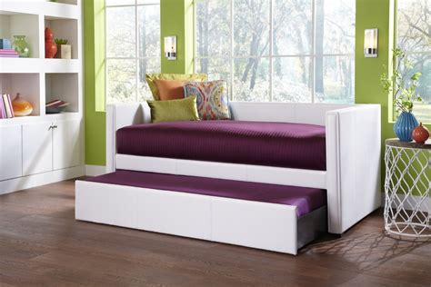 Daybed With Trundle Bed Furniture Stunning Decorative Wall Mirror Modern Upholstered Daybed With Trundle And