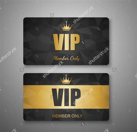 vip member card template 15 membership card designs design trends premium psd