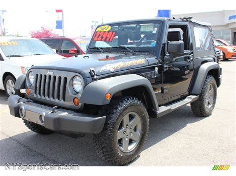 Jeep Wrangler 2010 For Sale 2010 Jeep Wrangler Sport Mountain Edition 4x4 In Black