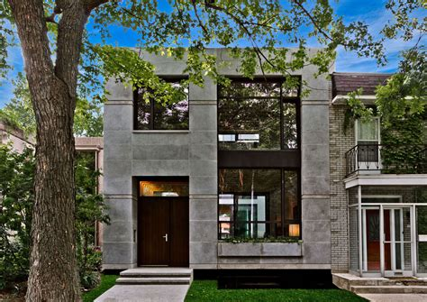 home design ecological ideas ecological house in montreal with contemporary exposed