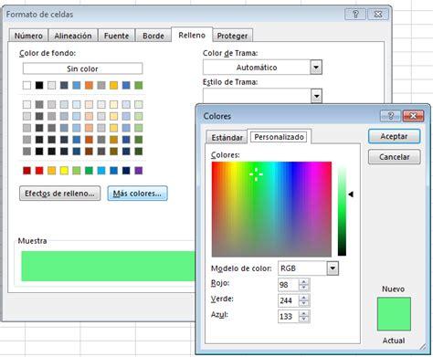 Activecell Interior Color by Uso De Colores En Excel Con Macros Exceleinfo