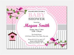 Baby Invitation Templates by Free Baby Shower Invitation Templates Microsoft Word