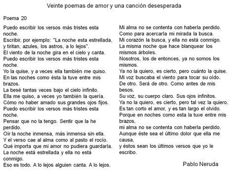 veinte poemas de amor 8499896871 veinte poemas de amor y una canci 243 n desesperada de pablo neruda poemario poemas