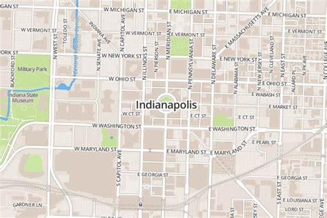 image gallery original map of indianapolis