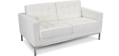 divano similpelle divano florence knoll 2 posti similpelle