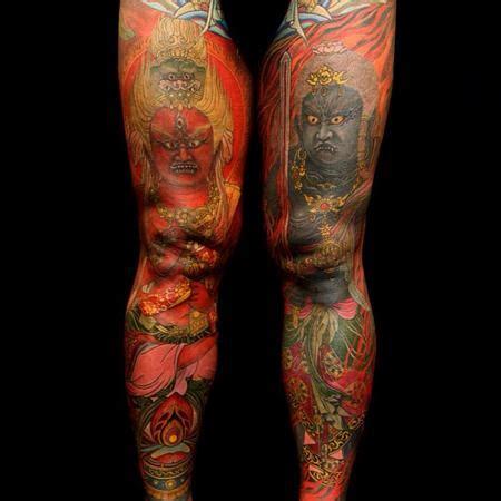 yellow blaze tattoo shige tattoonow