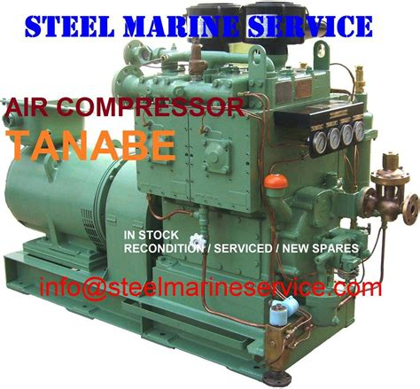 air compressor tanabe spare parts by steel marine service 45 photos product service
