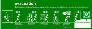 evacuation des e r p etablissements recevant du