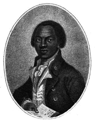 Olaudah Equiano, frontpiece from 'The Interesting