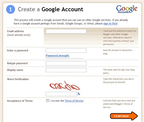 blogger sign in google account the beer hacker writing a beer blog part 1 setting up