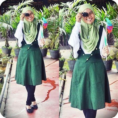 Dress Jersey Berlengan tanpa harus melepaskan jilbab 6 gaya berbusana lengan pendek ini tetap bisa kamu terapkan