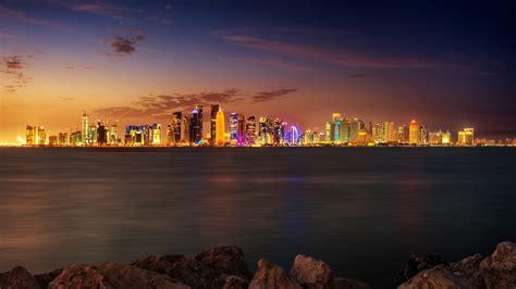 wallpaper qatar doha 4k ultra hd wallpaper and background 3840x2160 id