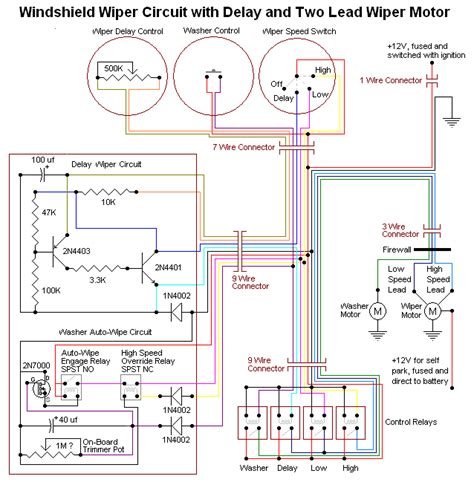 saturn windshield wiper wiring diagrams electrical wiring
