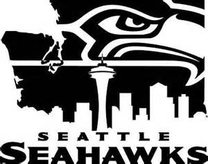 black and white seahawks logo pictures to pin on pinterest